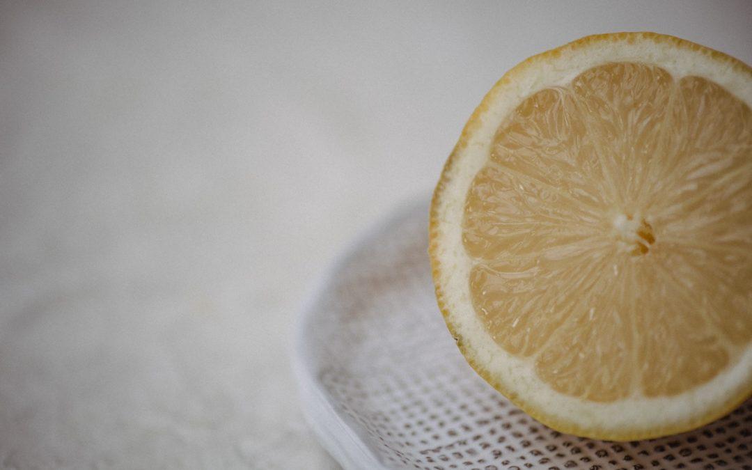 Wenn Dir das Leben Zitronen gibt …