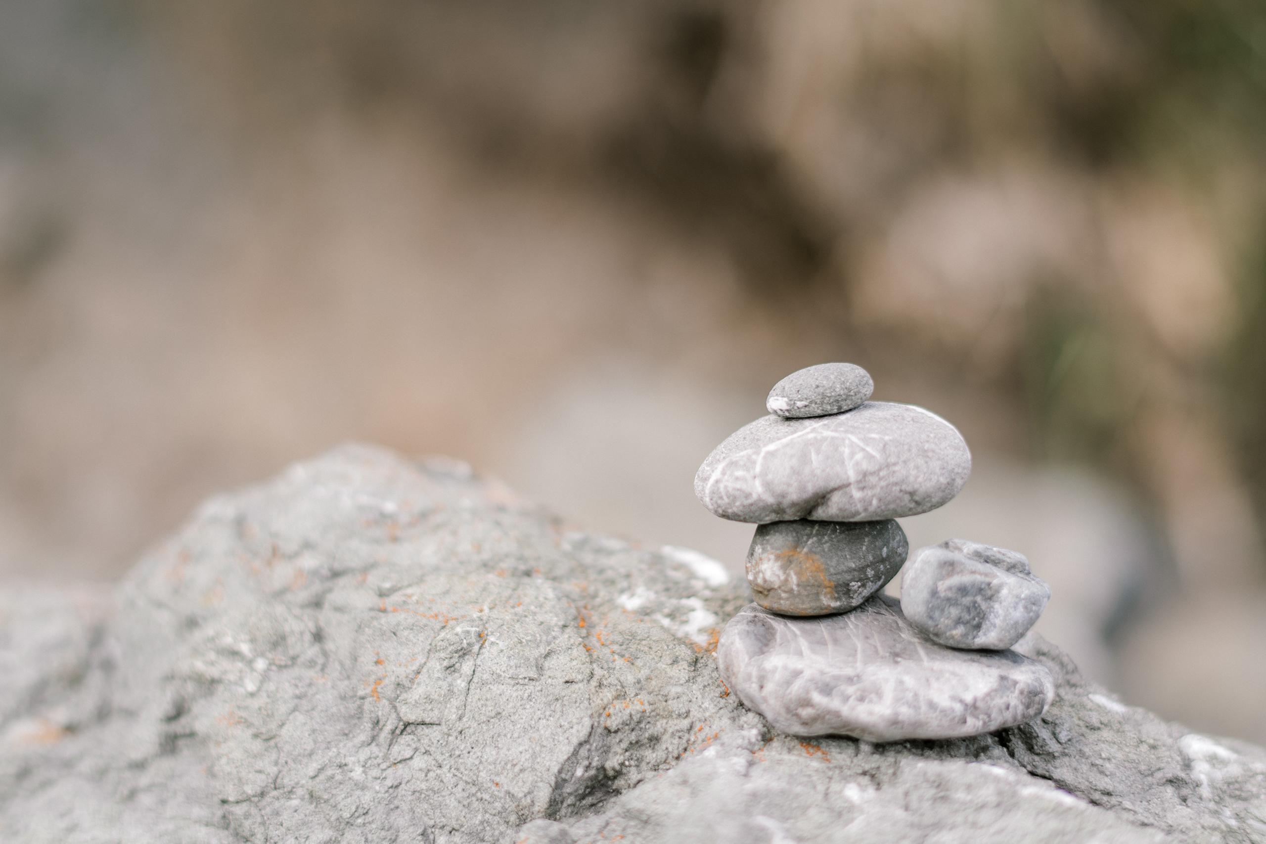 steine meditation